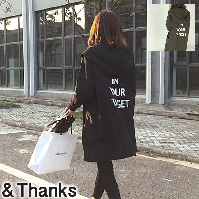 【BLACK即納1点可能】春コーデ スプリングモッズコート 2カラー1サイズ