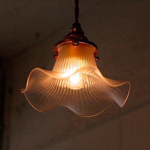 Antique Italian Glass Lamp Shade