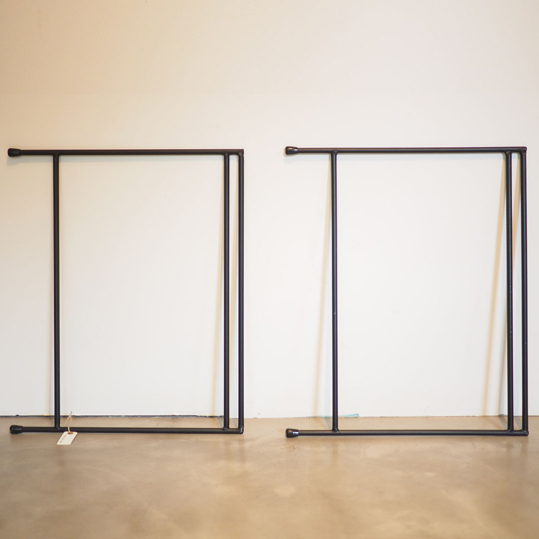 ラック・テーブル用 鉄脚 板厚18mm対応