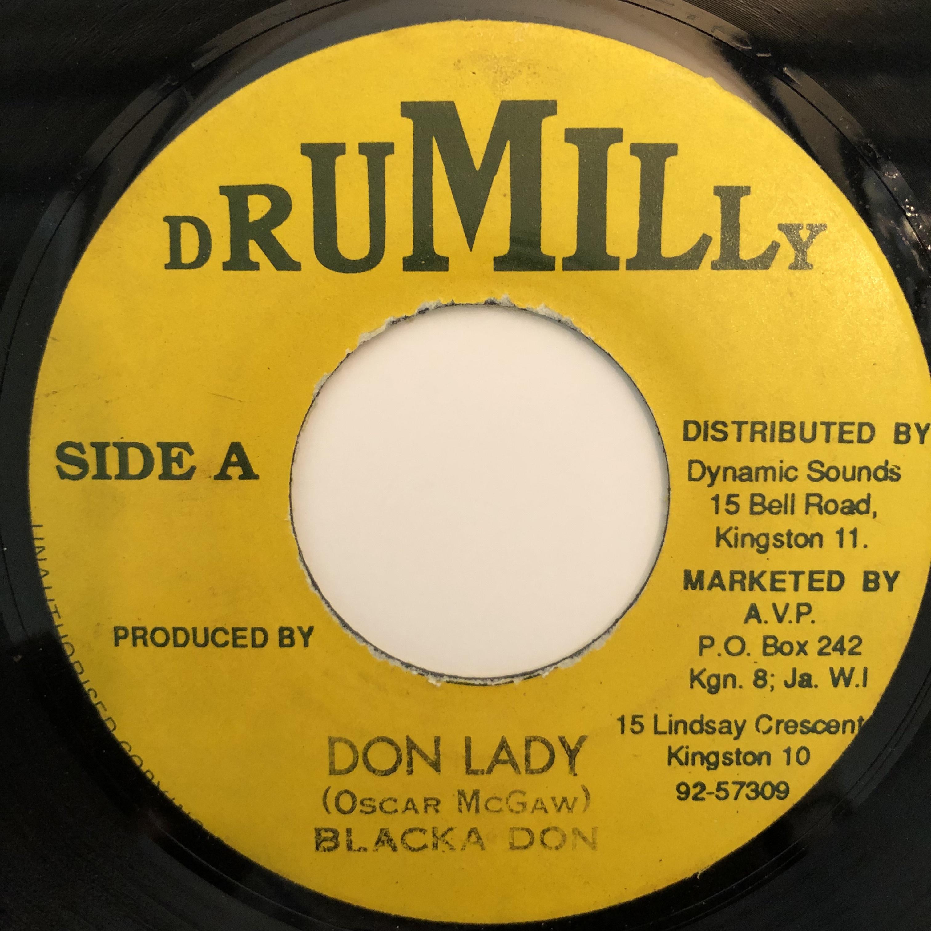 Blacka Don - Don Lady【7-20316】