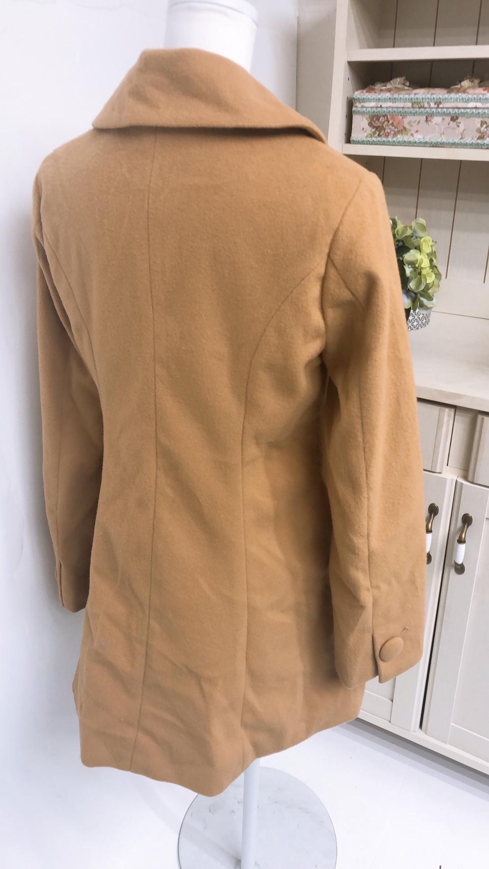 [アウトレット]丸ボタンワンピース丈コート