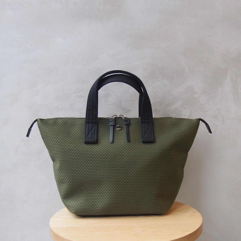 CaBas N°33 Bowler bag small Khaki/Black
