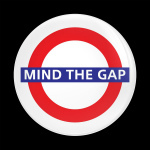ゴーバッジ(ドーム)(CD1066 - LONDON MIND THE GAP) - 画像1