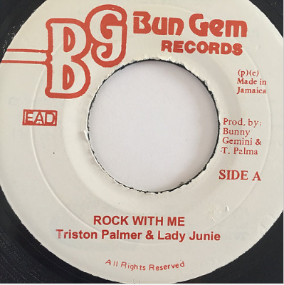 Triston Palmer (トリスタンパーマー) & Lady Junie (レディー・ジュニー) - Rock With Me【7'】