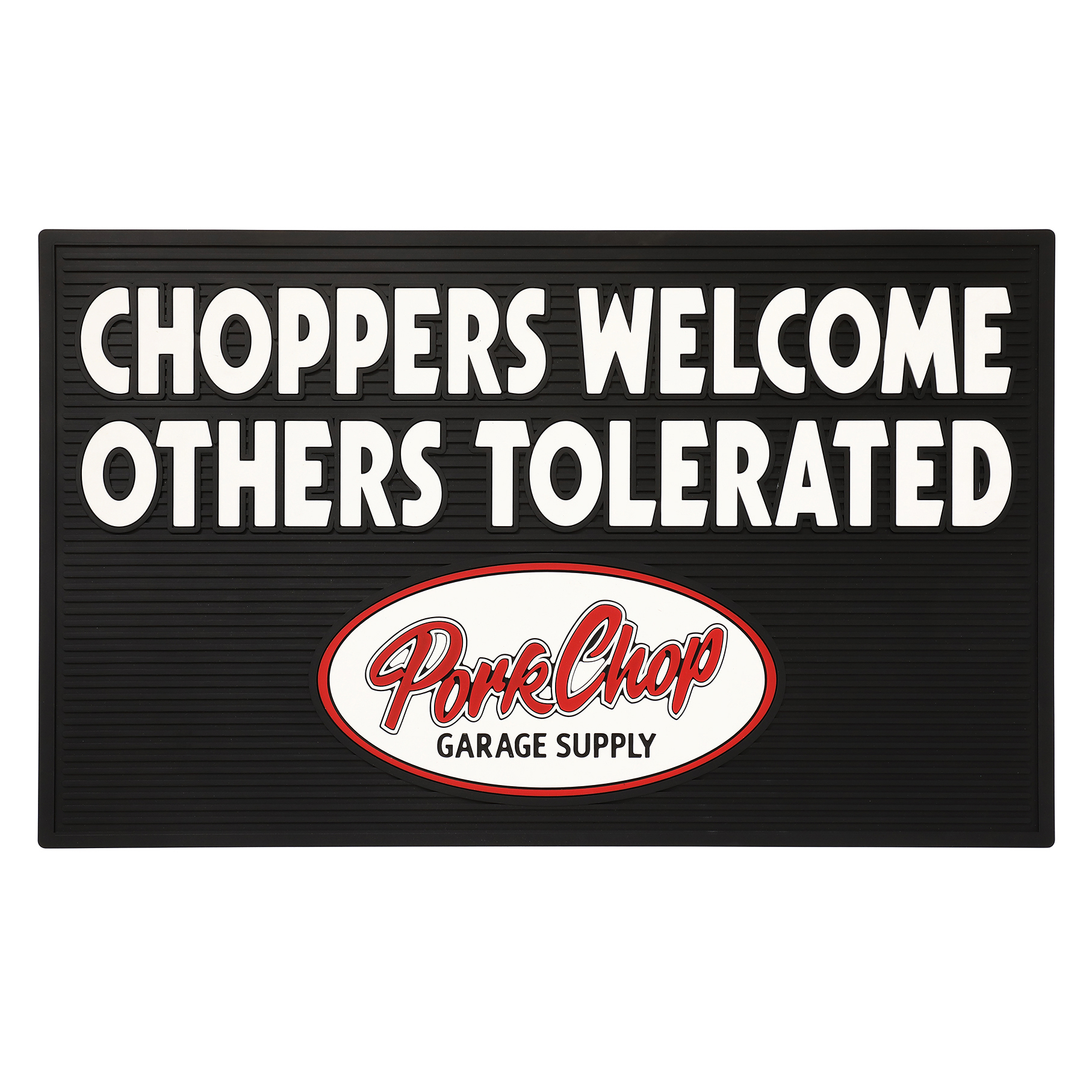 """WELCOME RUBBER MAT """"CHOPPERS"""""""