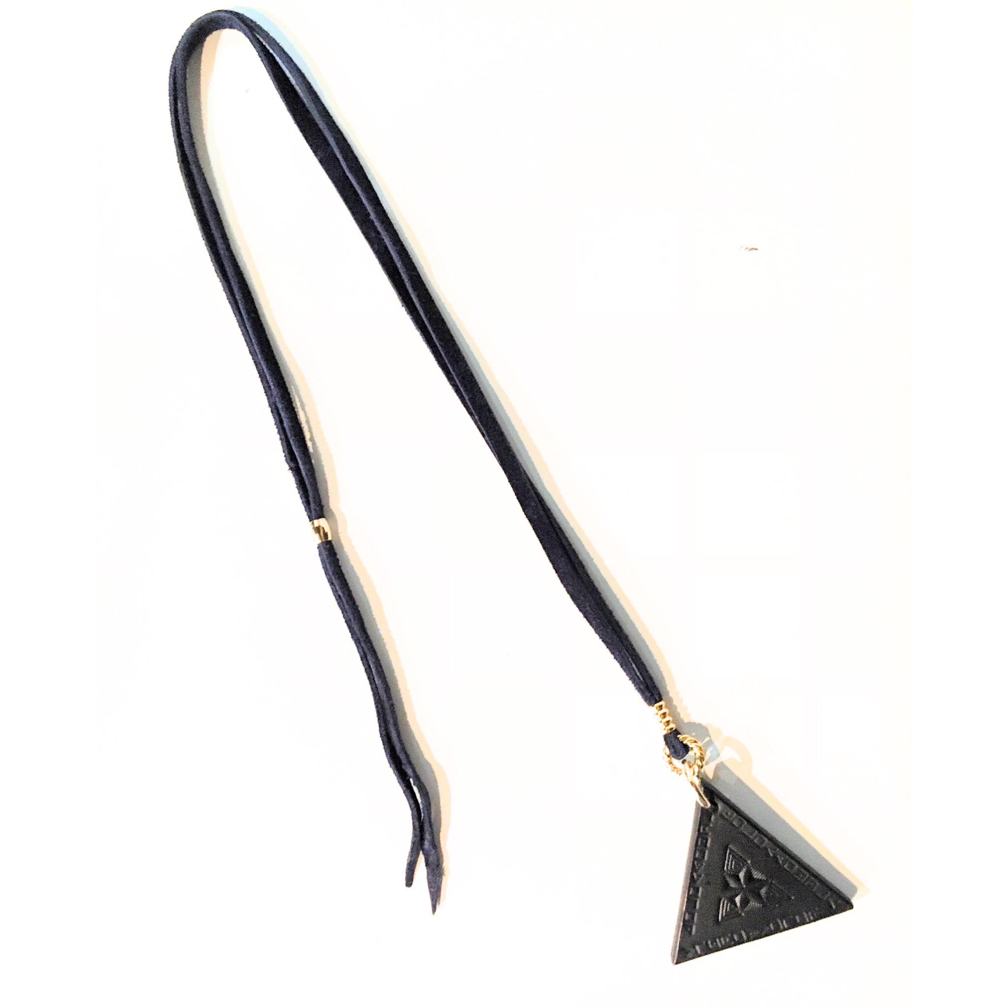 nahezu gleich / Dreieck Necklace (nvy) - 画像2