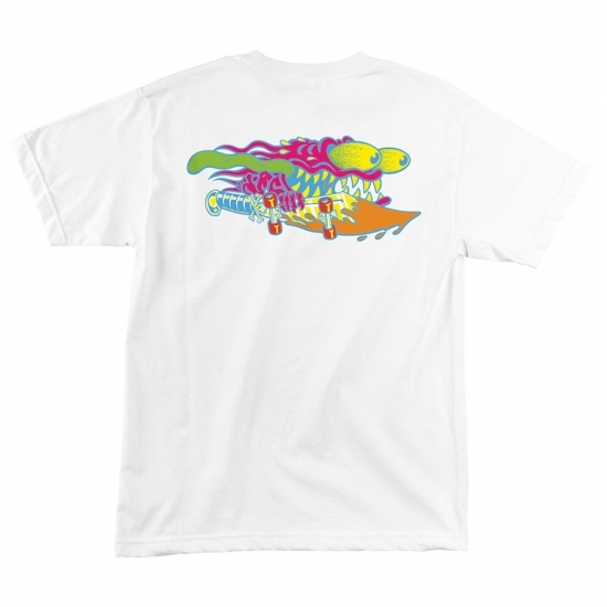 SANTA CRUZ サンタクルーズ SLASHER NEON REGULAR T SHIRT