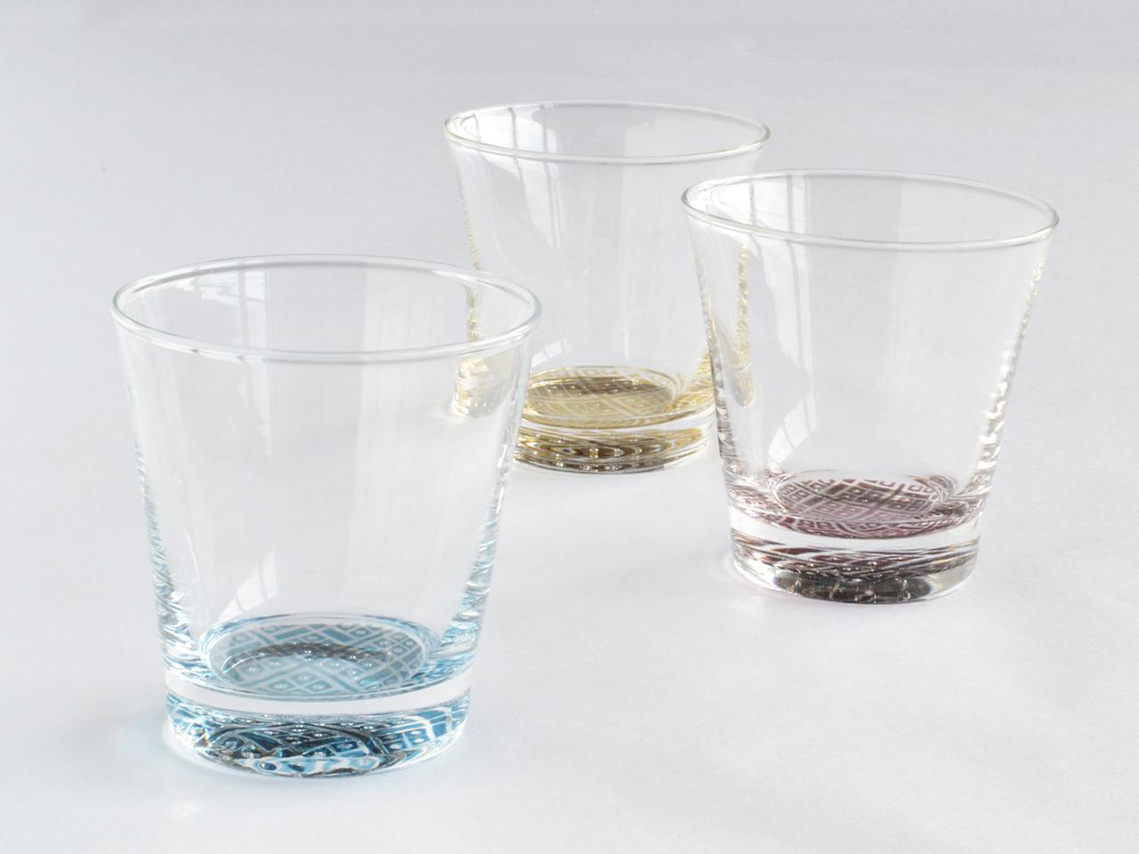 #tohokuru 白神ガラス工房|こぎん硝子 グラス