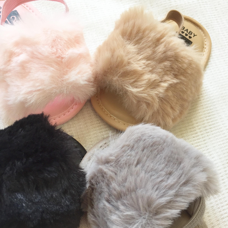 《 101 》fur sandal