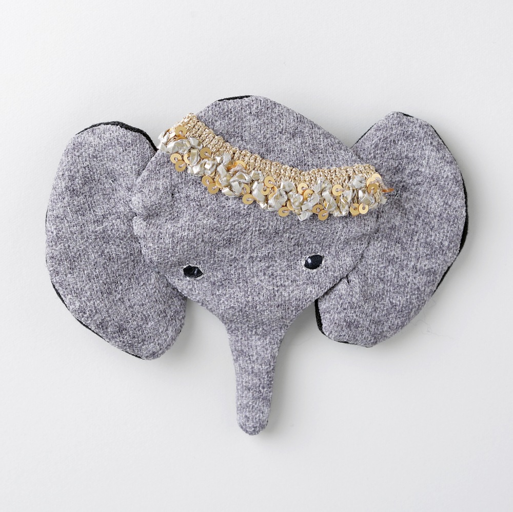 インド象バレッタ