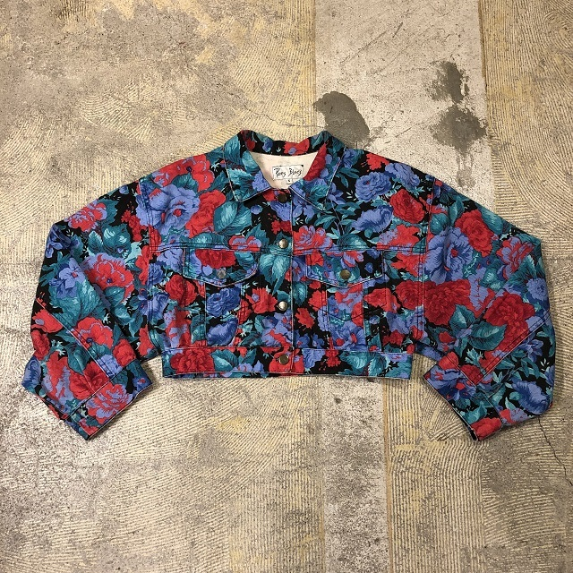 Paris Blues flower Jacket