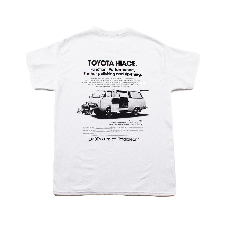 """TOYOTA """"HIACE AD"""" Tee - White"""
