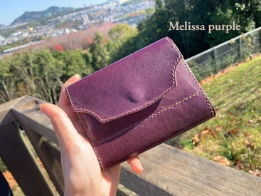 medium Melissa purple wallet