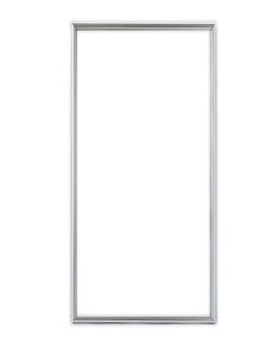 ポスターフレーム 特注サイズ100x50cm シルバー(スワン・ウィング用)