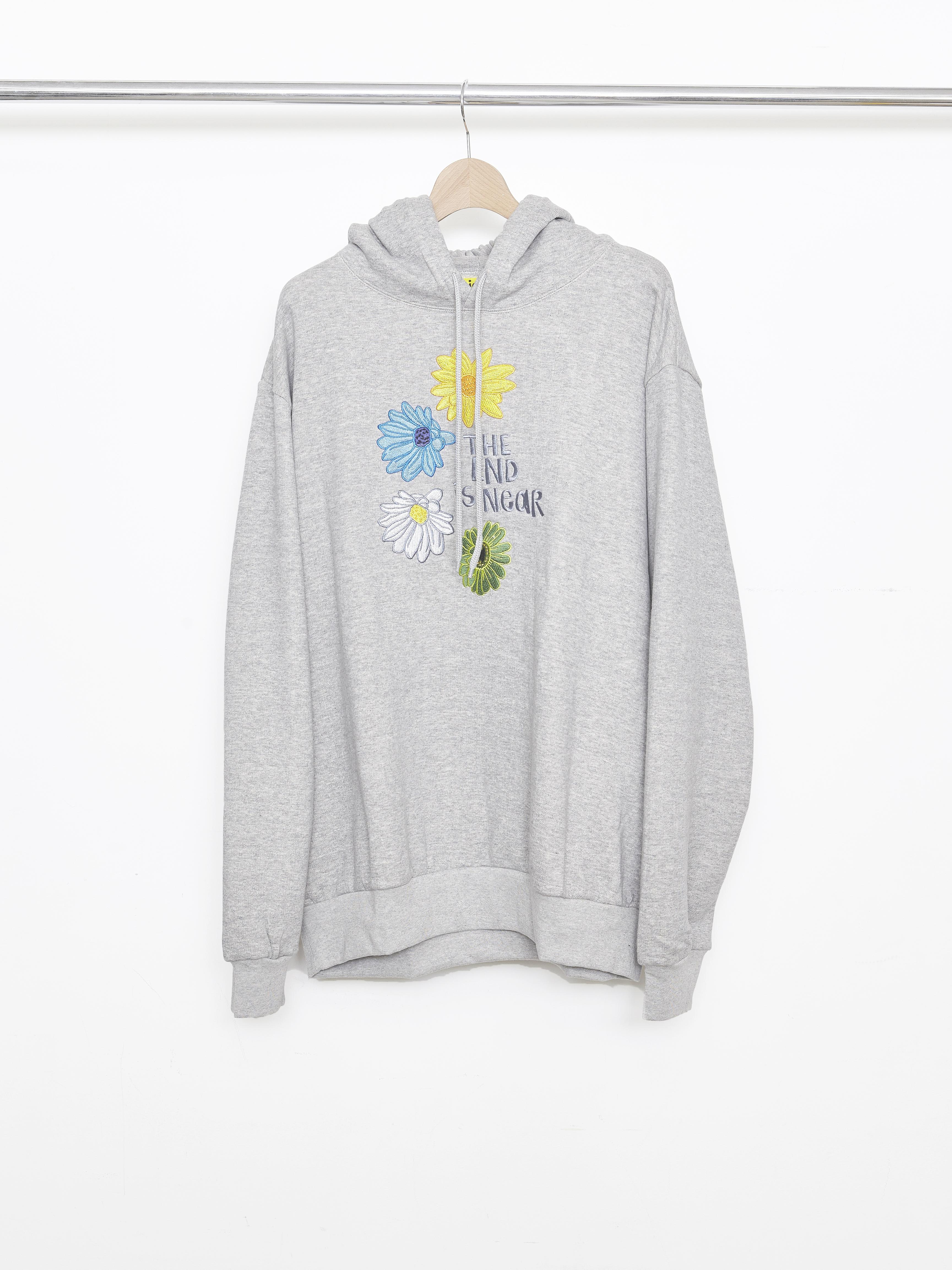 Allege×iggy Flower Hoodie - Gray