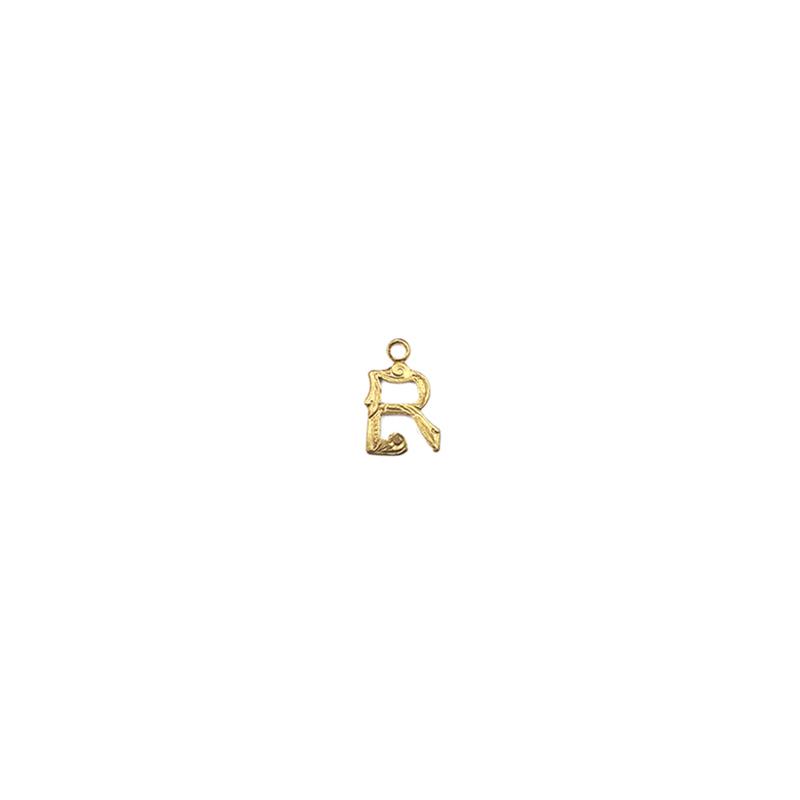 【70%OFF】アルファベット装飾R