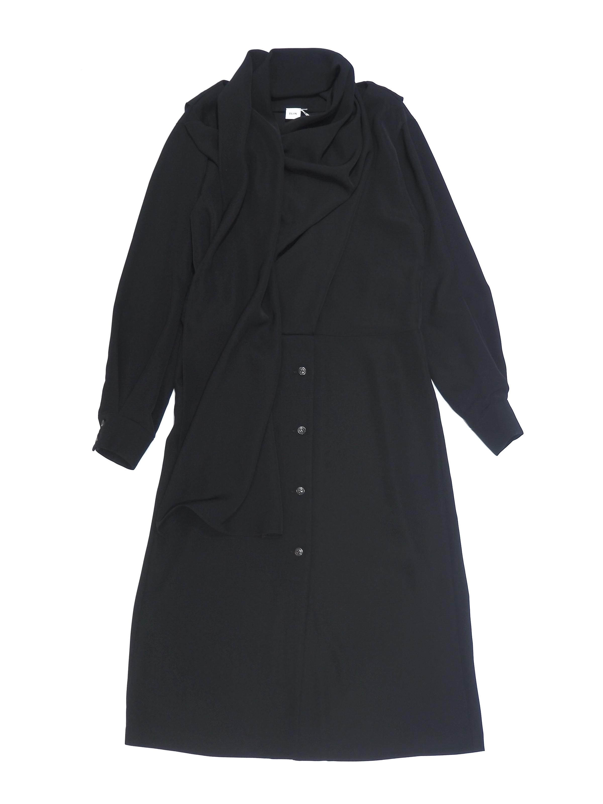 【ELIN】TWILL STOLE DRESS