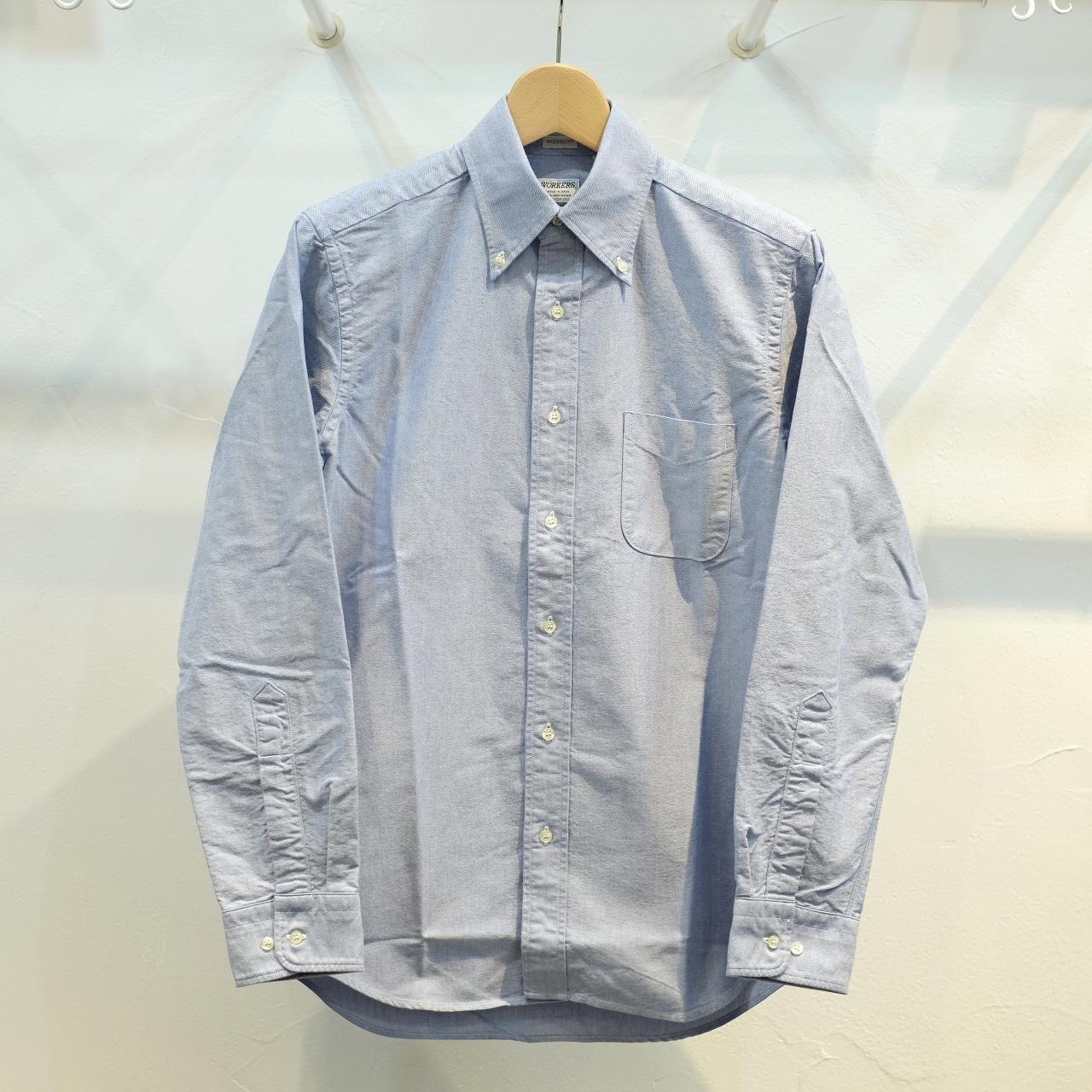 Workers(ワーカーズ) D-OX ボタンダウンシャツ ブルー