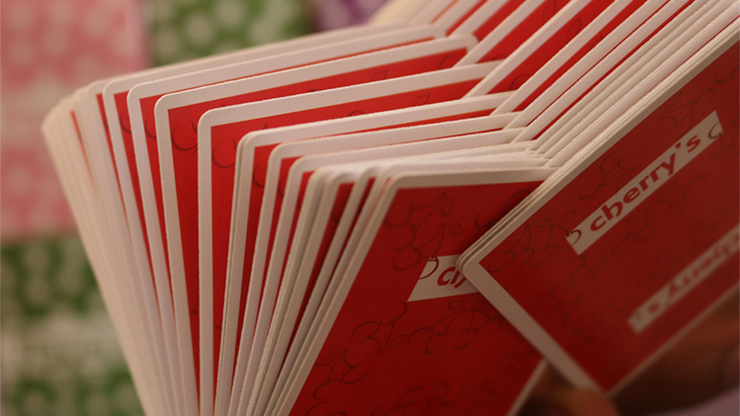 Limited Edition Flavors Playing Cards - Cherries