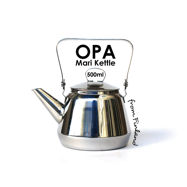 OPA Mari Stainless Kettle / 500ml / IH-enabled
