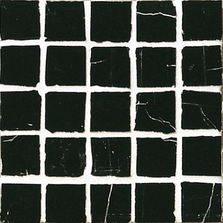 Staind Grass Mosaic【Midnight Black/Natural】ステンドグラスモザイク【ミッドナイトブラック/ナチュラル】