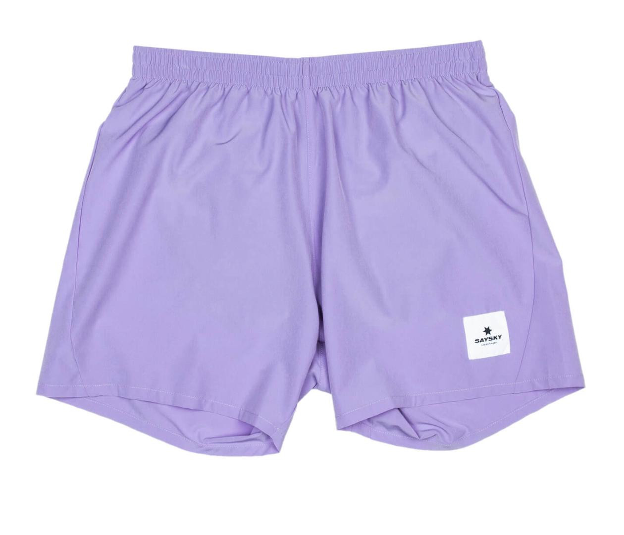 【NEW!】SAYSKY セイスカイ  ランニングショーツ Pace Shorts - SUNLIT ALLIUM [ユニセックス] FMRSH07