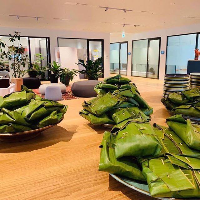 【2個セット】バナナの葉に包まれたランプライス ~スリランカの滋味がたっぷりのアーユルヴェーダミール~