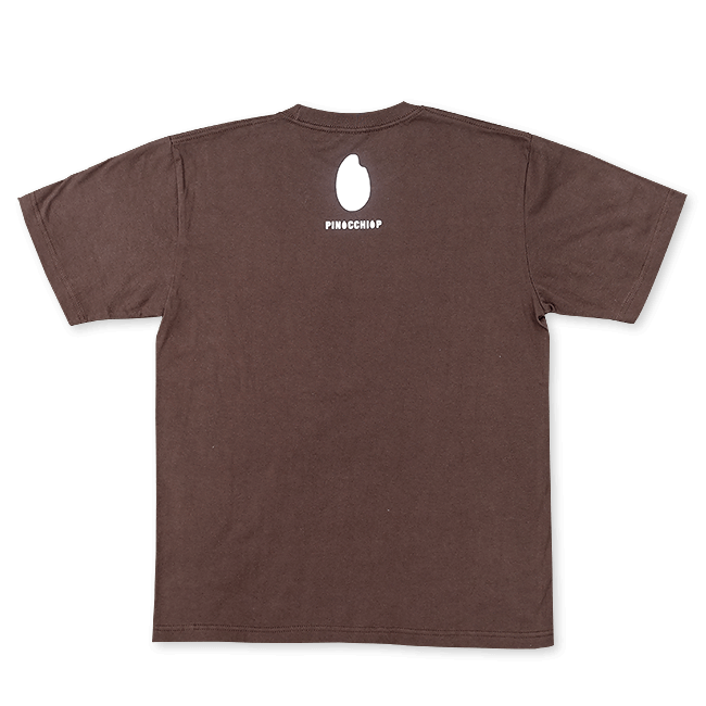 ピノキオピー 銀シャリTシャツ(メンズ/玄米バージョン) - 画像2