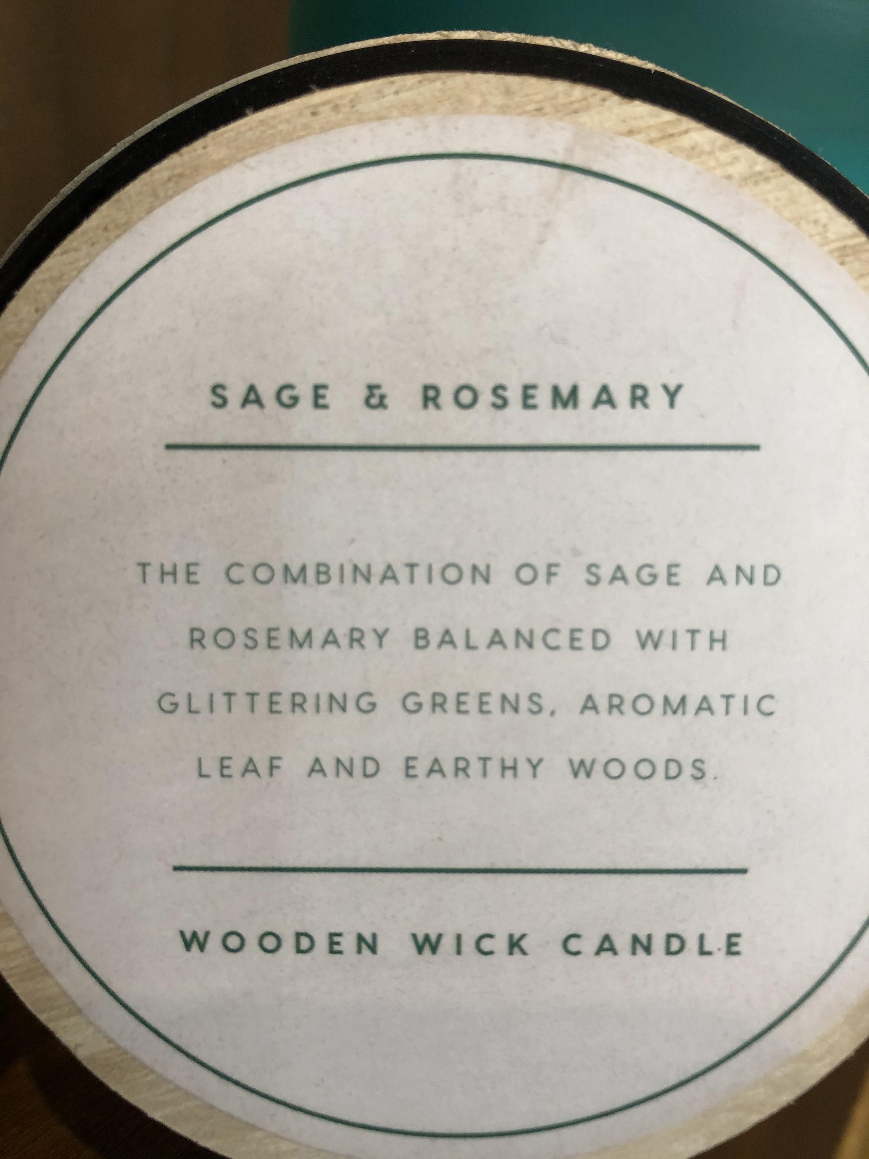 DW Home Candles SAGE & ROSEMARY 空気の浄化にぴったりなアロマキャンドル