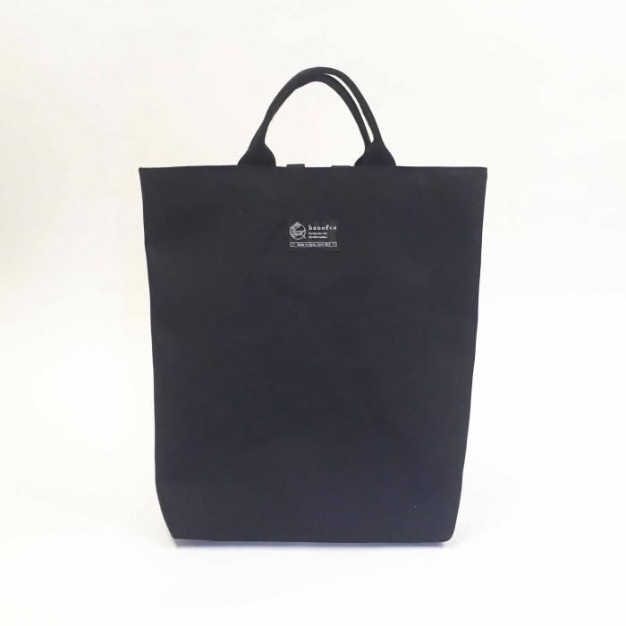 2way shopper / black x polka dot 2ウェイショッパー / 墨 x 水玉
