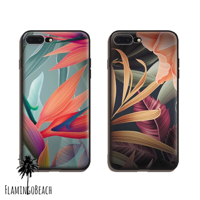 【FlamingoBeach】leaf iPhone ケース
