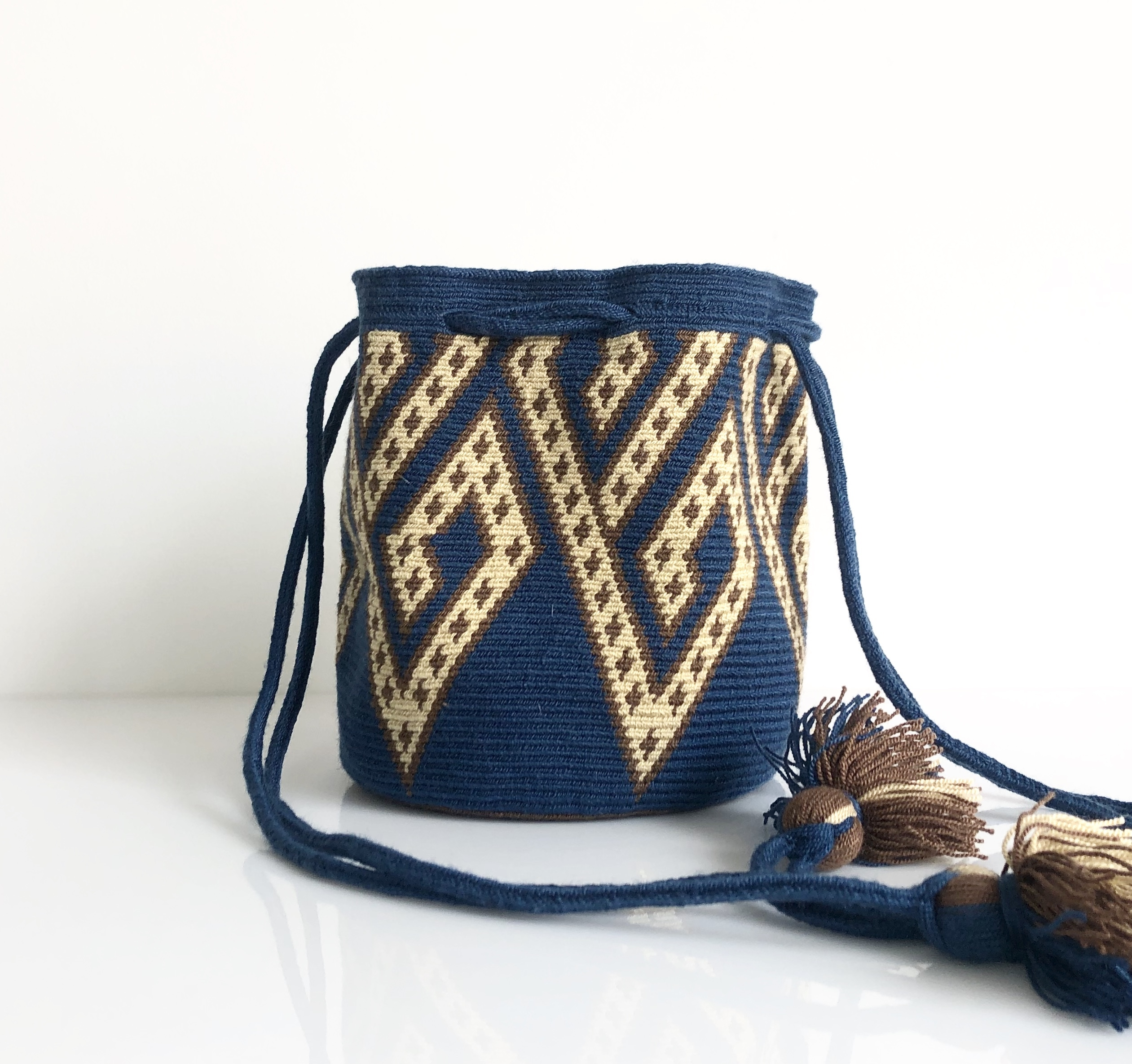 ワユーバッグ(Wayuu bag) Exclusive line Sサイズ Kinchaku