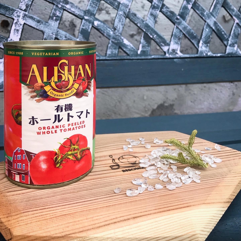有機ホールトマト缶 (カンポ社) オーガニック 400g (固形量240g)