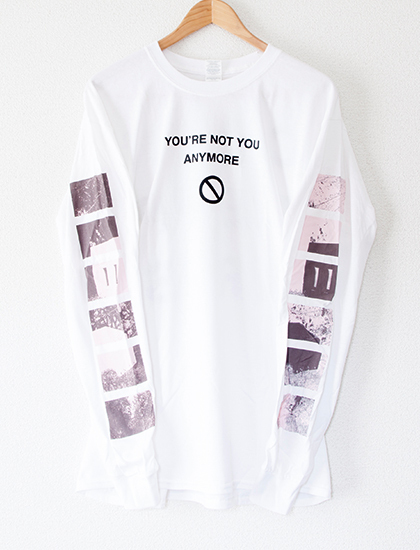 【COUNTERPARTS】Not You Long Sleeve (White)