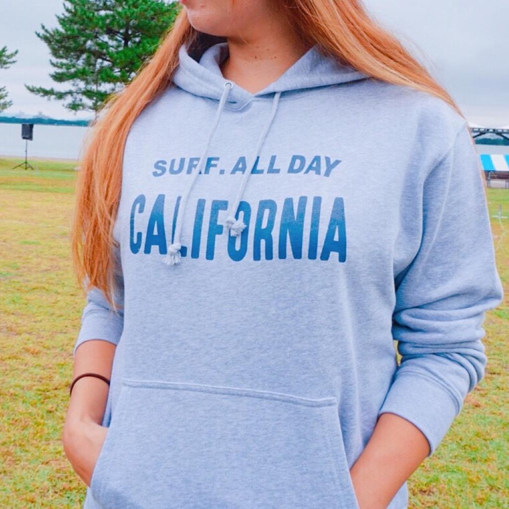 CALIFORNIA hoodie - Gray