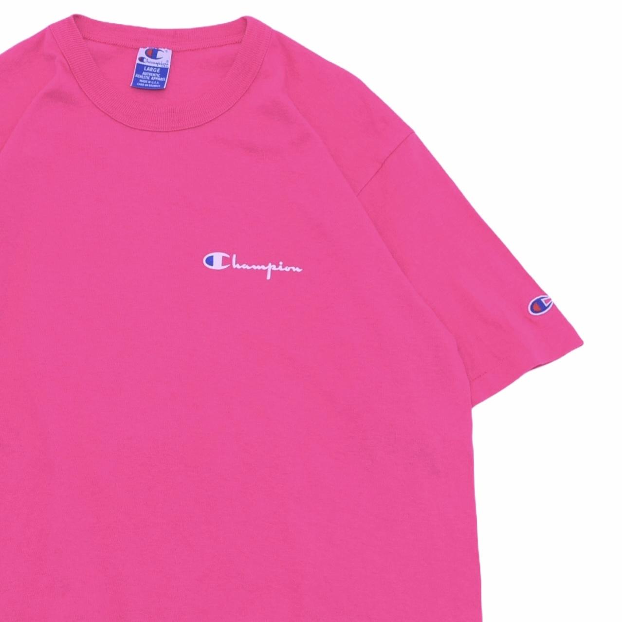 90's Champion logo T-shirt Made in USA