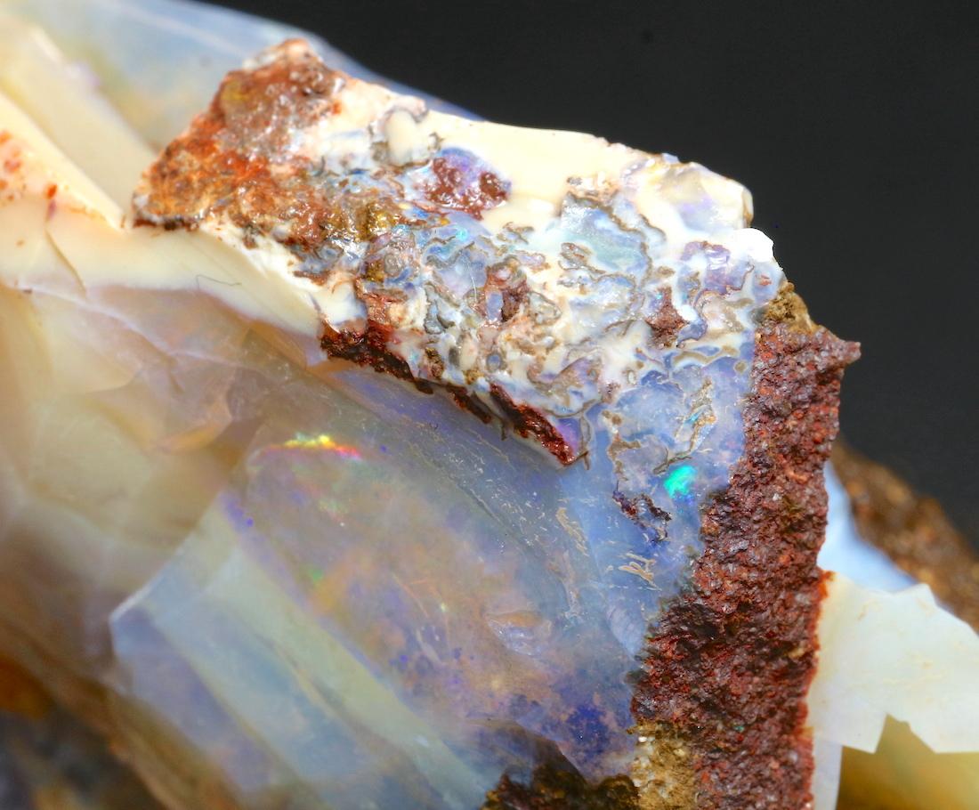 ボルダー オパール  オーストラリア産 原石 鉱物 天然石 67,8g OP057 パワーストーン