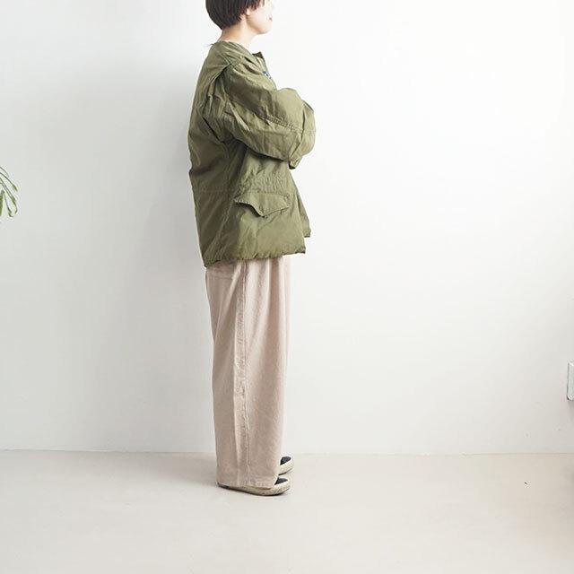 sunny side up サニーサイドアップ リメイクM-65ミリタリージャケット(OLIVE) 【返品交換不可】 (品番sr-182-008)