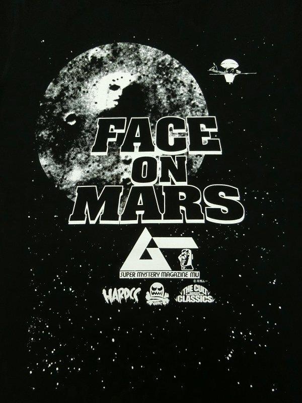 月刊ムー 火星の人面石/FACE ON MARS(350.4°ブラック) / ハードコアチョコレート