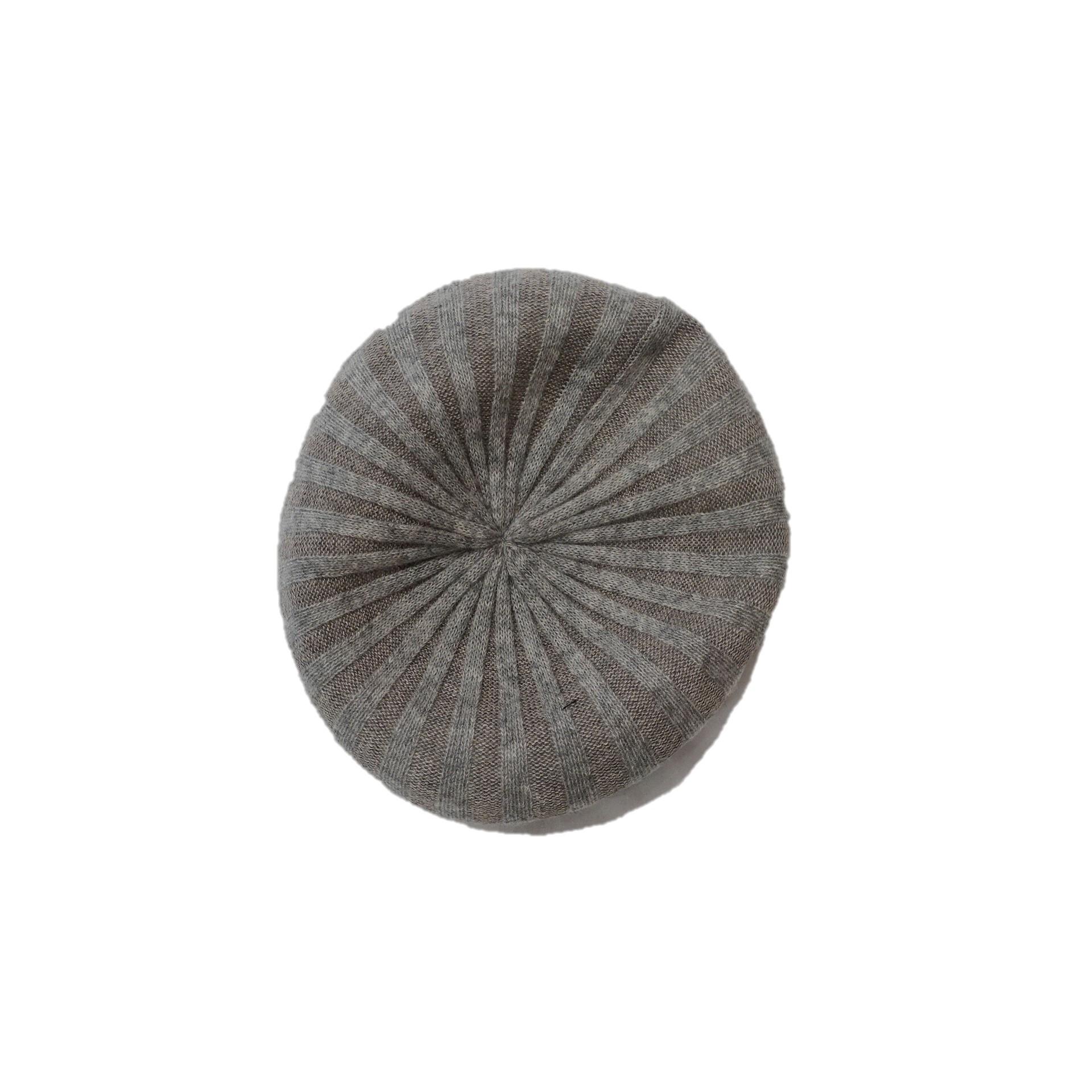 21016  ベレー帽/グレー