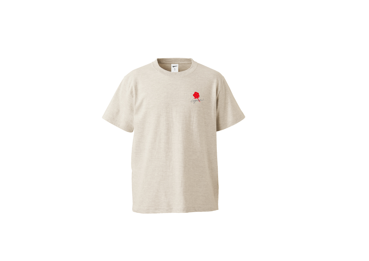 Rose T-shirt(otm/red)