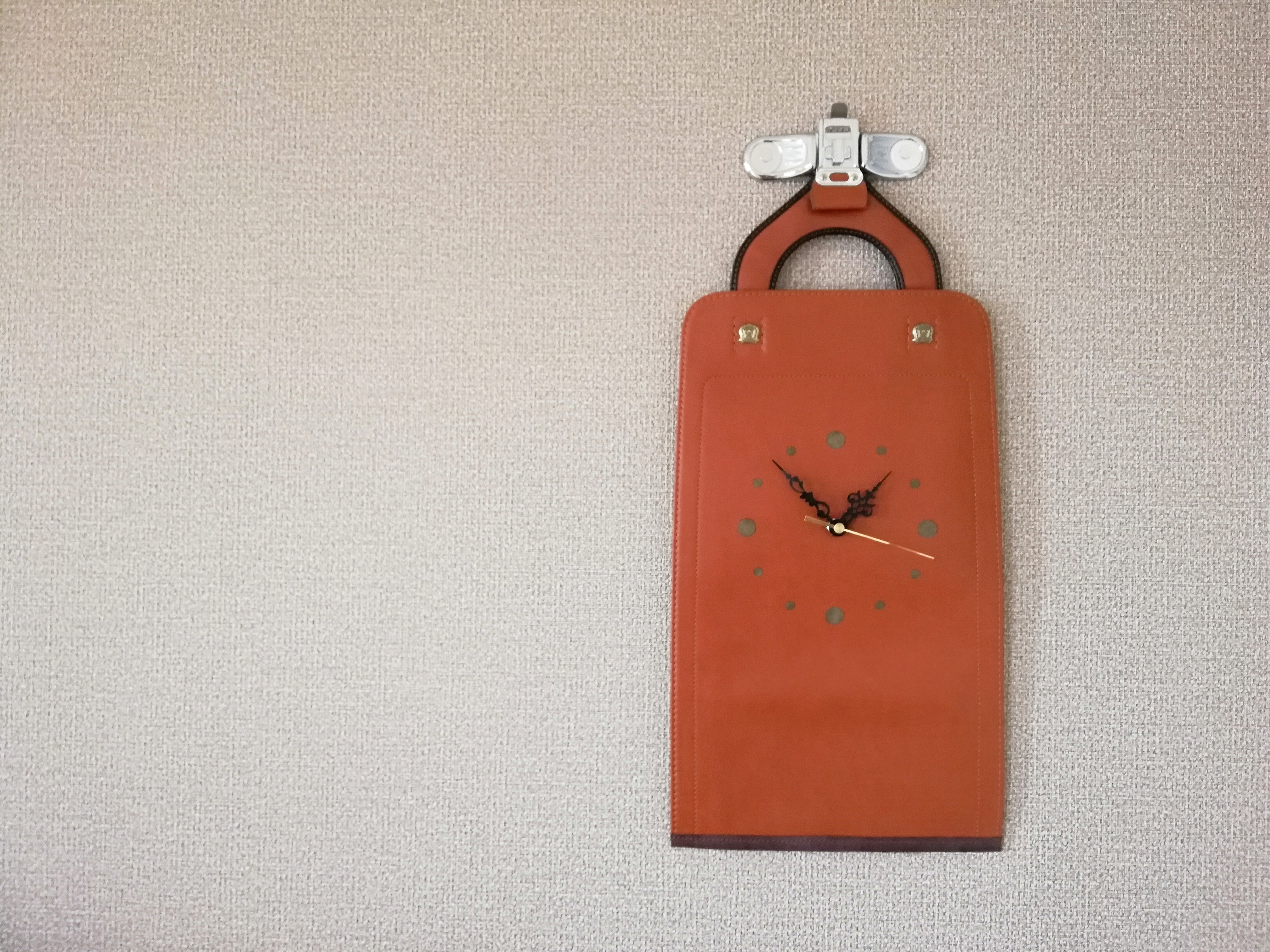 【掛-kakeru- シリーズ】Wall Clock brown