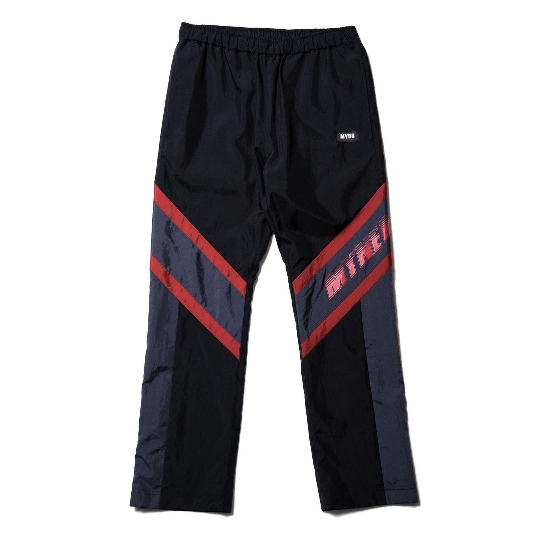 MYNE MOTORS nylon pants / BLACK - 画像1