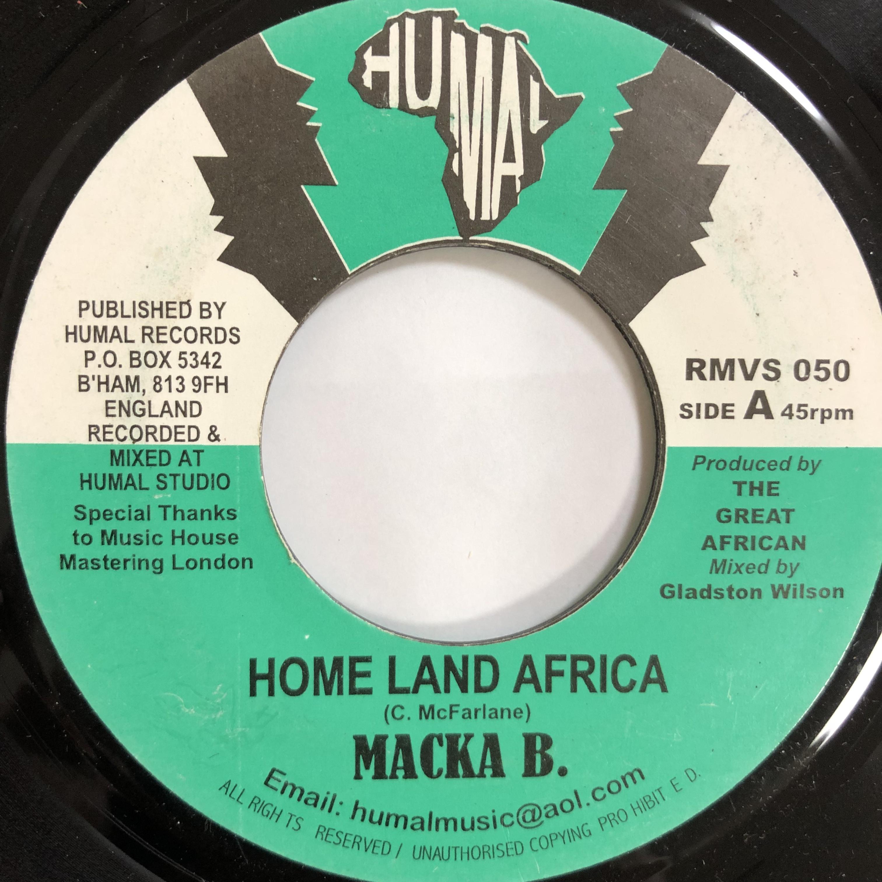Macka B(マッカB) - Home Land Africa【7-20054】