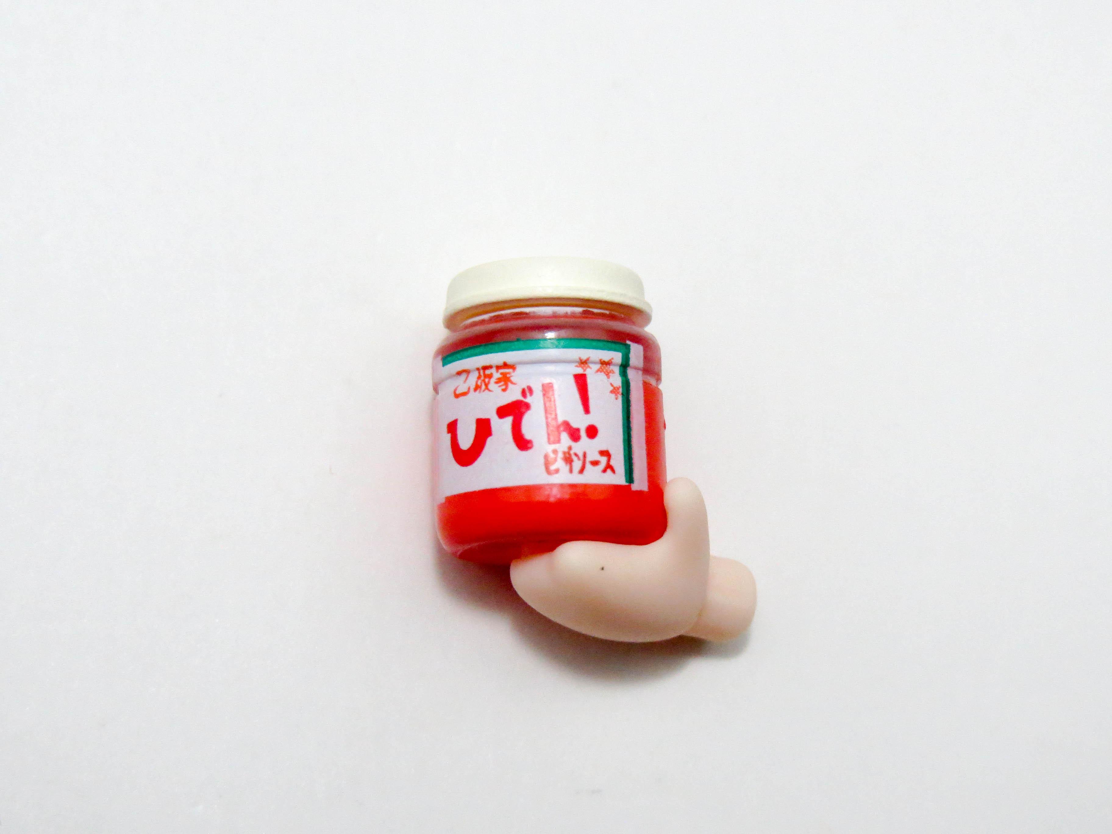 【596】 乙坂歩未 小物パーツ 乙坂家秘伝ピザソース ねんどろいど