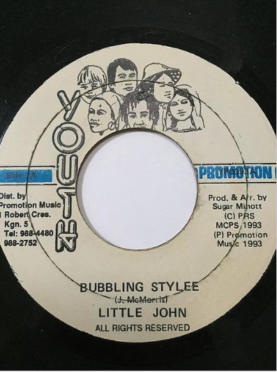 Little John(リトルジョン) - Bubbling Style【7'】