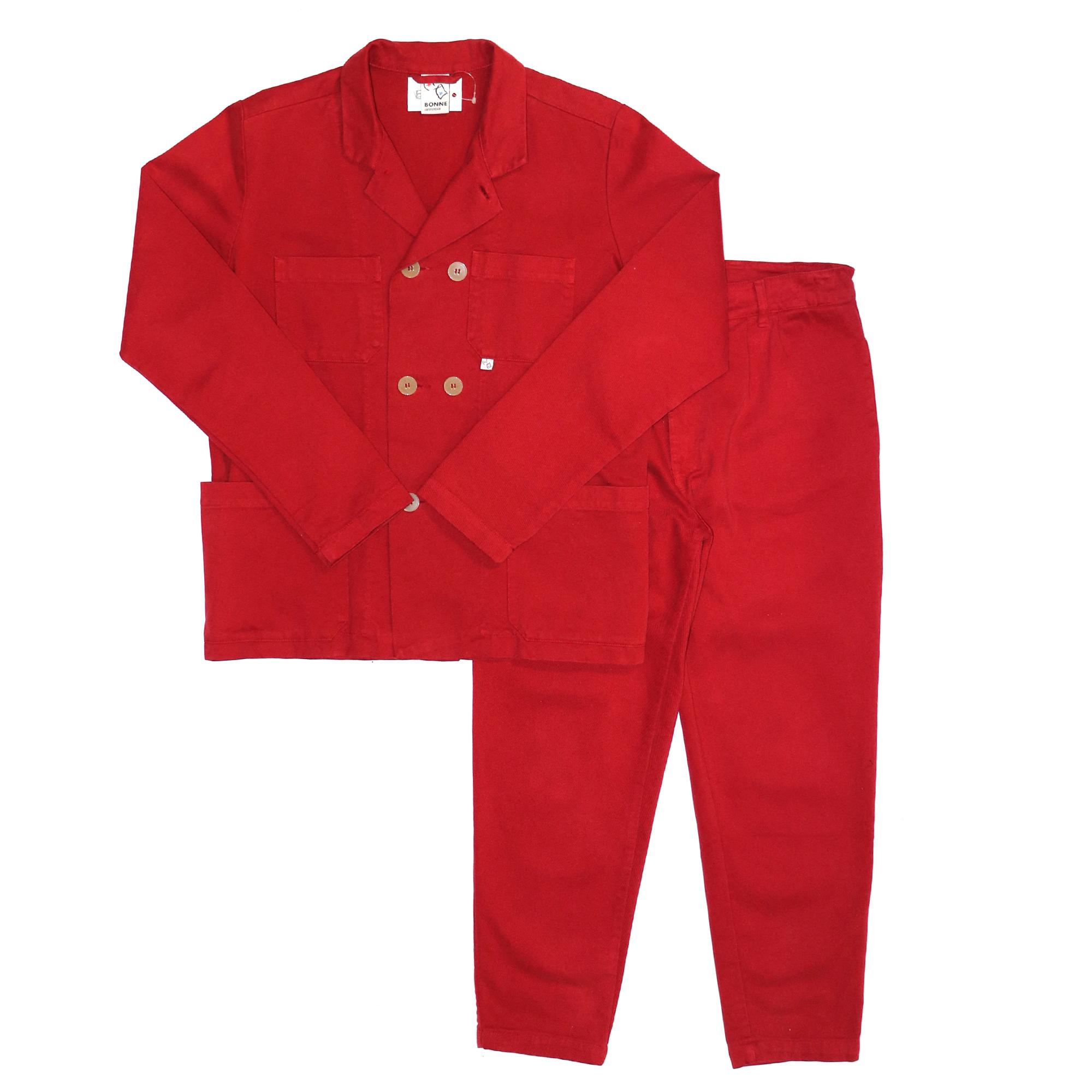BONNE SUITS Set Up RED