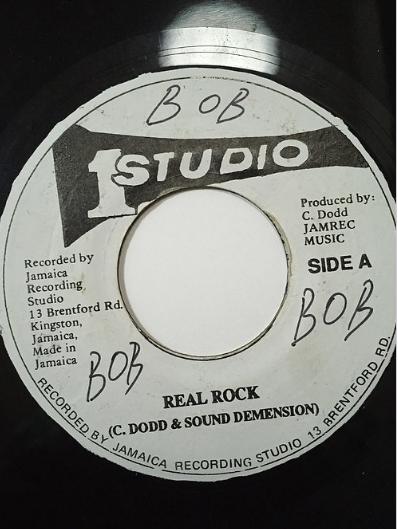 Sound Dimension - Real Rock 【7'】