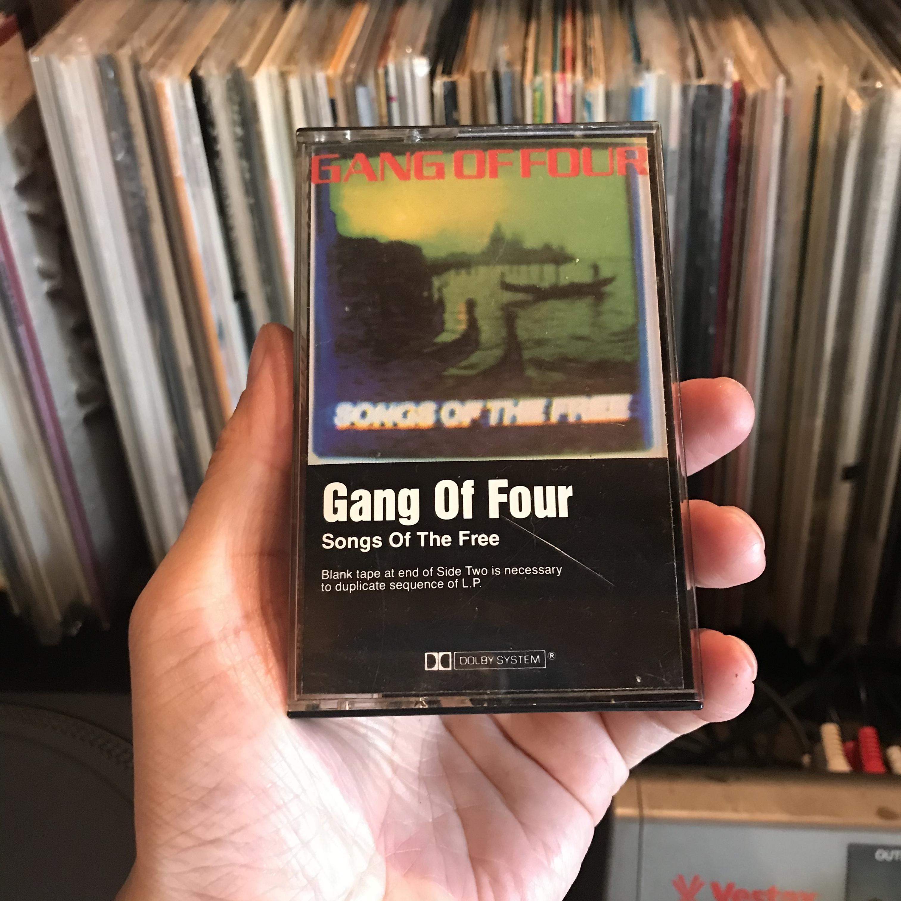 【中古】Gang Of Four/Songs Of The Free(カセットテープ)