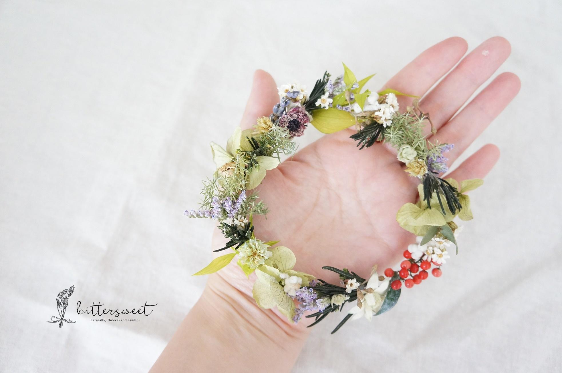 Wire wreath    no.002